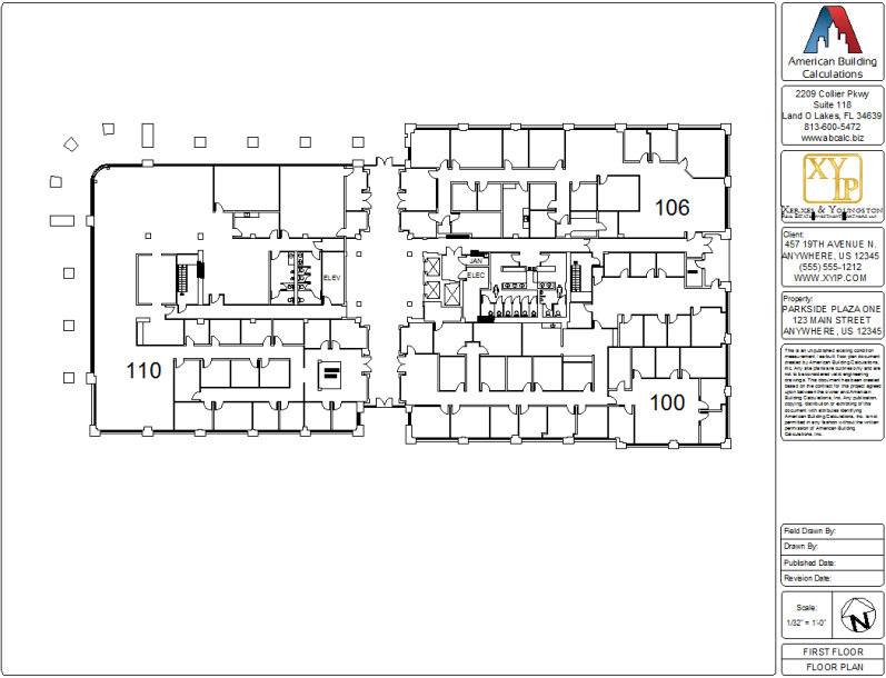 Office industrial multi tenant retail buildings for Commercial building plans